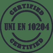 siderandria materiali certificati 1