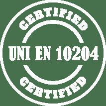 siderandria materiali certificati